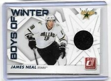 JAMES NEAL 2010-11 PANINI DONRUSS BOYS OF WINTER GAME USED JERSEY
