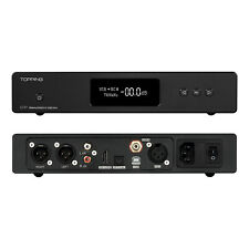 TOPPING D70 HIFI AUDIO DAC AKM AK4497*2 XMOS Native DSD512 Balance 768KHZ BLACK