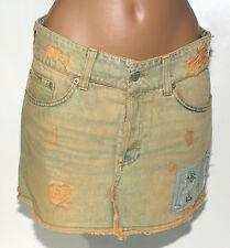 Gonna Mini jeans Richmond Denim 42 cotone donna corta