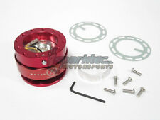 NRG Steering Wheel Quick Release Kit Generation 2.0 Red Body w/ Red Ring NEW