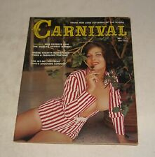 1965 CARNIVAL MEN's PINUP MAGAZINE WORLD's SEXIEST WOMEN RATED GINGER HAVEN