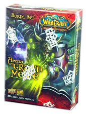 WOW World Of Warcraft TCG, Arena Grand Melee, Horde Set, New