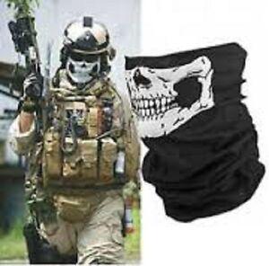 Men/Women's Army Skull Bandana Mask Scarf Warmer Motocycle Biker Cycling Scarves
