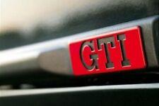 LOGO VW latérale GTI Golf 2 II MK2  BADGE ORIGINAL 191853714 TRÈS RARE OEM