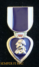 # PURPLE HEART MEDAL LAPEL HAT PIN US MARINES ARMY AIR FORCE NAVY COAST GUARD