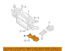 NISSAN OEM Splash Shield-Under Engine/Radiator Cover 50812ZV00B