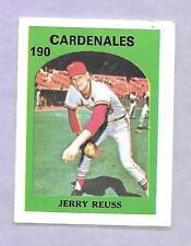 1972 VENEZUELAN STAMP #190 DR JERRY REUSS VENEZUELA TOPPS CARDENALES *NONE GRADE