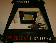 """Pink Floyd 2001 Echoes Original Double Sided Promotional Poster 26"""" x 22.5"""" Htf"""