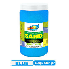 Coloured Sand 600g Bottle All Color Sand for School/Home/Party/Wedding/Craft/Art