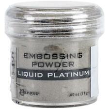 Ranger Embossing Powder 1oz Jar-Liquid Platinum