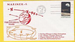 MARINER-6 EQUATORIAL PASS CAPE CANAVERAL FL JULY 31 1969