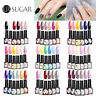 UR SUGAR 7.5ml 6Pcs/set Colorful Gel Polish Soak Off Base Top Coat UV Gel Nail