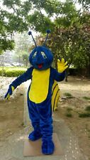Blue Snails Mascot Costume Suit Cosplay Party Game Dress Outfit Christmas Adult@