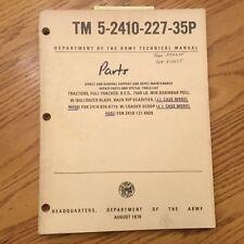 Case 450 PARTS MANUAL BOOK CATALOG BULLDOZER CRAWLER LOADER TRACTOR DOZER GUIDE