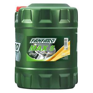 SAE 80W 90 FANFARO MAX 5 Getriebeöl 20 Liter GL 5 LS / MIL L 2105 D Getriebe Öl