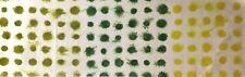 DESIGNERS GUILD Amplapura Polka Dots Green Cotton Remnant New