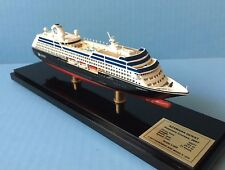AZAMARA QUEST cruise ship MODEL ocean liner boat 1:900 scale by Scherbak