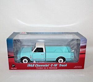 "New First Gear Die Cast 1/25 Scale ""Marathon Oil"" 1968 Chevrolet C-10 Truck IOB"