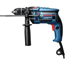 Bosch Blue Impact Drill 650W Gsb13Re-Klc Corded Softgrip Rotatable Brush Plate