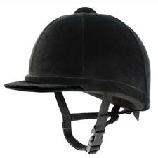 Charles Owen Young Riders Hats Junior size 7 1/4 59cm Black