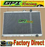 GPI Aluminum Radiator for Mitsubishi Lancer EVO 1 2 3 EVO1 EVO2 EVO3 Manual MT