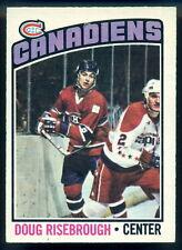1976-77 OPC O PEE CHEE #109 DOUG RISEBROUGH NM MONTREAL CANADIENS HOCKEY CARD