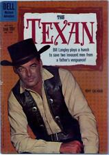 Rory Calhoun THE TEXAN #1096 Second and Final Issue (Dell, 1960)!