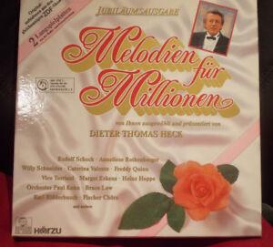 Melodien für Millionen,  mit Dieter Thomas Heck, ARIOLA 303 100  von 1987, DO-LP