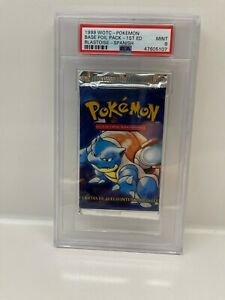 Pokemon 1ST EDITION - BLASTOISE BASE BOOSTER - PSA 9 - HOLO FOIL HEAVY