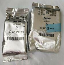 NEW!  Genuine Kodak Verite 5 BLACK and 5 COLOR COMBO ink cartridges BULK PACK