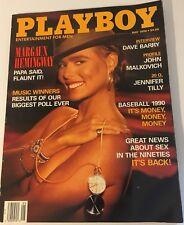 Playboy Magazine May 1990 - Margaux Hemingway