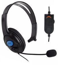 Cascos auriculares con micrófono para playstation4 ps4 PC Ordenador Gaming CAB