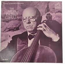 The Art of Pablo Casals, Works of Bach, Chopin, Schurbert, 8 Others