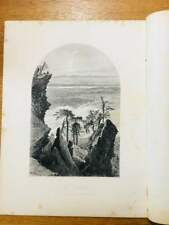 1874 Steel-cut lithograph of THE CATSKILLS: South Mountain Sunrise by Harry Fenn