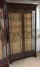 Unbranded Antique Style Display Cabinets