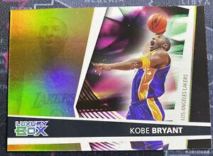 2005-06 Topps Luxury Box Kobe Bryant Main Reserved 31/100 GOLD HOF Lakers #88
