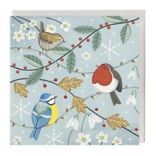 100% Recyclable Christmas Card - Festive Birds