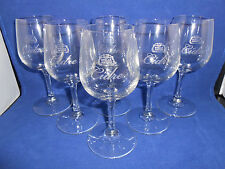 STELLA ARTOIS CIDRE SET OF SIX 6 GLASSES 200 mL 6.75 oz 6.25 in. WINE TASTER NEW