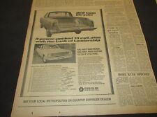 CHRYSLER VALIANT WAYFARER 1968 UTE ADVERTISEMENT ORIGINAL FULL PAGE