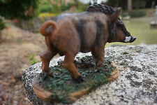 8009  A  FIGURINE STATUETTE  SANGLIER  MARCASSIN  FORET   ANIMAL