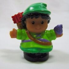 Fisher Price Little People CASTLE ROBINHOOD ARCHER Royal Lil Kingdom Rare Arrows