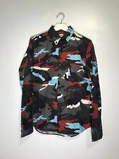 THOM BROWNE × MONCLERMoncler Gamme Bleu Camouflage Print Shirt