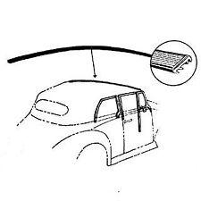 VW MAGGIOLONE 1302 BEETLE CABRIO GUARNIZIONE PARABREZZA Seal top front window
