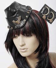 Chapeau calot gothique punk lolita pin-up militaire étoiles fashion Punkrave