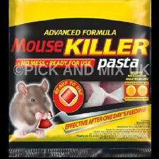 Mouse Traps, Mice, Rodent Trap. High Quality Pasta Sachets Poison
