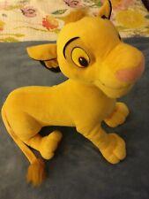 Disney Lion King Simba Large Plush Stuffed Animal by Hasbro