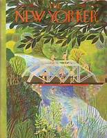 1950 New Yorker June 17 - Diving from the Bridge