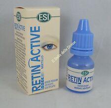 ESI RETIN ACTIVE Gocce oculari 10ml con mirtillo idratanti lubrificanti occhi