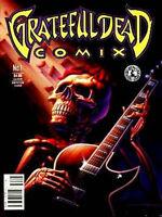 Grateful Dead Comix #1 Kitchen Sink Magazine 1991 new nm+ Jerry Garcia Amricons