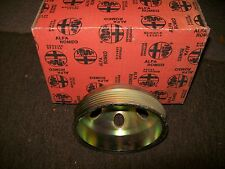 ALFA ROMEO SPIDER 2000 POWER STEERING  PULLEY  ORININAL 1991-1993 60550514